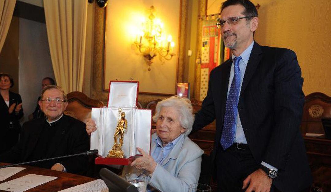 Aldina premiata con il Nettuno d'oro 2013